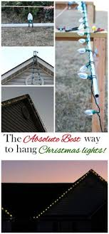hanging lights the easy way hanging lights