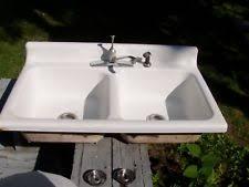 Kitchen American Standard Cast Iron Home Sinks EBay - American standard cast iron kitchen sinks