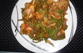 cuisiner des haricots verts poulet haricots verts recette dukan pl par sand95 recettes et
