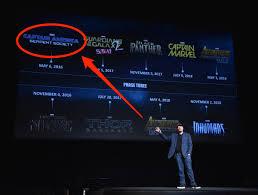 marvel film schedule through 2018 business insider