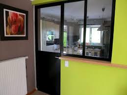 fenetre atelier cuisine séparation de cuisine façon atelier metal concept escalier