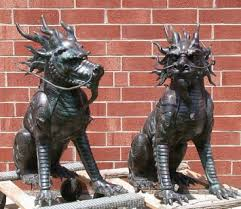 foo lion statue furnishings and décor foo lions mbwfurniture