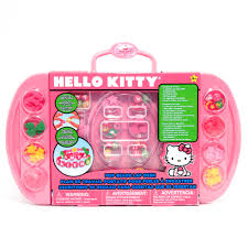 Kids Lap Desk For Car by Sanrio Hello Kitty Jewelry Making Beads Desk 110 Piece