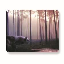 Buy Desk Accessories by Buy Snow Wolf Mousepad Wolf Wallpaper Mouse Pad Desk Accessories