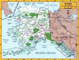 Alaska Highway Map by Map Of Alaska State