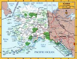map of alaska cities map of alaska state