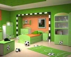 Child Bedroom Design With Football Themes  Latest - Football bedroom designs