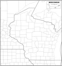Maps Of Wisconsin by Free Map Of Wisconsin