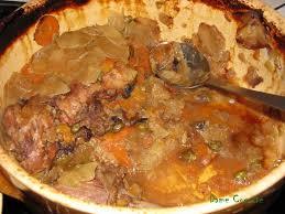 recette cuisine baeckoff baeckeoffe de canard aux épices de noël et fruits secs les