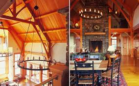 home interiors cedar falls interiors timber frame mountain home truexcullins architecture