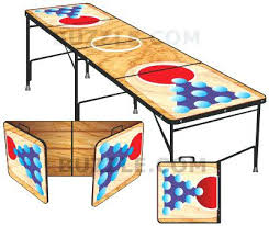 Beer Pong Table Length by Wooden Beer Pong Table U2013 Thelt Co
