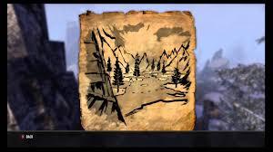 Eastmarch Ce Treasure Map The Elder Scrolls Online Bleakrock Isle Treasure Map 2 Location
