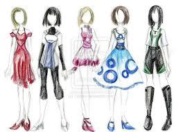 fashion designers clothes sketch latest trend fashion