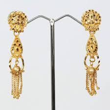 golden earrings buy lovely golden earrings online craftsvilla