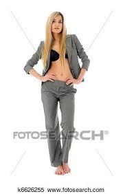 femme nue au bureau banque d image pieds nue femme dans bureau uniforme k6626255