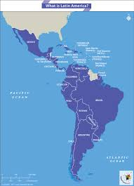 Latin America Countries Map by What Is Latin America Answers