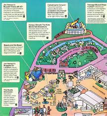 Map Of Hollywood Studios Mgm Studios Park Map From 1993 Disney S Hollywood Studios Blog