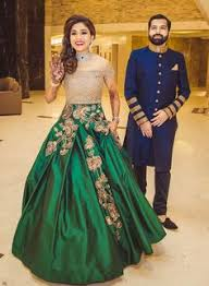 modern bride gown look hand crafted reception look styles
