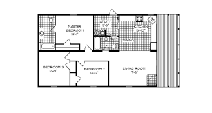 3 bedroom modular home floor plans michigan ranch modular home 1 387 sf 3 bed 2 bath next modular