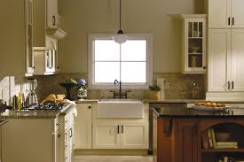 Glass Cabinet Kitchen Shaker Painted Cabinets Kitchen Update Ideas