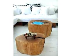 Tree Stump Side Table Tree Trunk Side Table Tree Trunk Coffee Table Fit For Interior