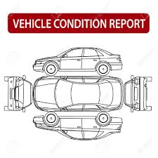Vehicle Inspection Report Template Free by Vehicle Condition Report Car Checklist Auto Damage Inspection