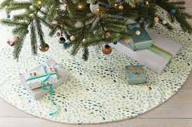 tree skirts cool modern christmas tree skirts that go with your decor not