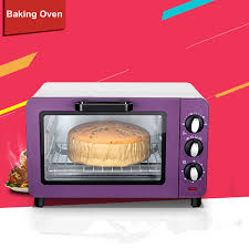 Toaster Oven Temperature Control 15l Small Household Multifunction Electric Oven Cake Baking