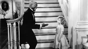 shirley temple and bill robinson broke some racial barriers while