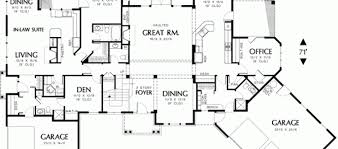 House Floor Plans With Inlaw Suite 100 House Plans With In Law Suite Simple 5 Bedroom House