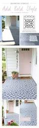 Patio Paint Concrete by 25 Best Stencil Concrete Ideas On Pinterest Painting Concrete