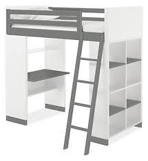 Desks With Bookcase Moda Kids U0027 Loft With Shelves Modern Bunks U0026 Lofts Modern Kids