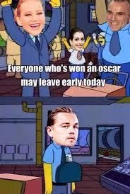 Leonardo Di Caprio Meme - the best internet reactions to leonardo dicaprio not winning an