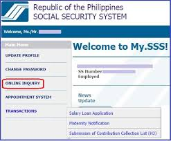 how to register or sign up for sss online membership account