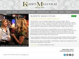 website for makeup artist website design and seo for calgary makeup artist digital lion