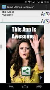 App Meme Generator - tamil meme generator apk download free entertainment app for