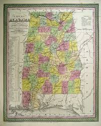 Map Of Alabama And Florida by Alabama Maps Alabama Digital Map Library Table Of Contents