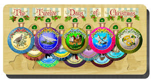 12 days of ornament set puzzlewarehouse