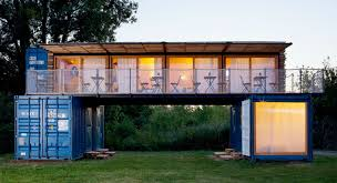 this amazing shipping container hotel can pop up anywhere in the
