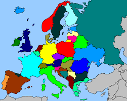 Blank European Map by Apricity Map Contest