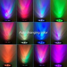 amir led solar outdoor spotlight wall light changing color 2200mah
