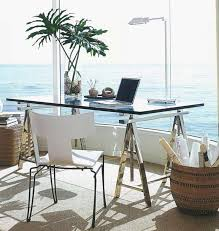 Home Office Glass Desks Small Glass Desk For Small Home Office Space Office Furniture