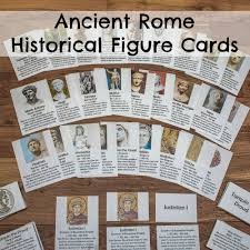 ancient rome historical figure cards researchparent com
