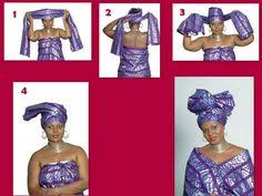 how to tie your african headwrap before i left for ghana i did