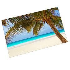 outdoor palm tree l custom summer beach palm tree entrance mats floor carpet interior