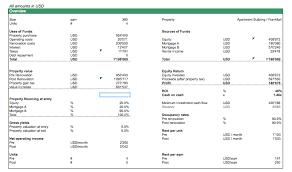 Estate Spreadsheet Templates Free Spreadsheet Templates Efinancialmodels