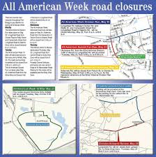Fort Bragg Map Road Closures The 82nd Airborne Fort Bragg N C Facebook