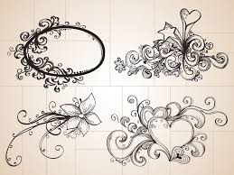 doodle drawings these cool decorative ornaments use