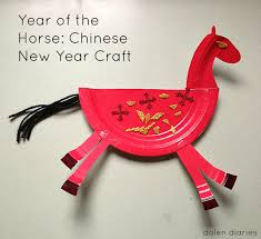year of the horse a chinese new year craft dolen diaries