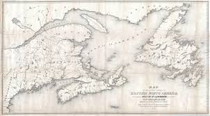 Map Of New England Colonies by New England And Canada U0027s Maritime Provinces Differences In Record